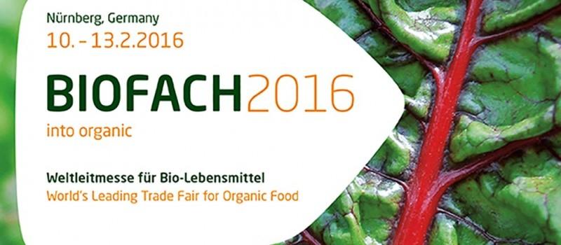 BIOFACH 2016 – Feria líder mundial de productos ecológicos
